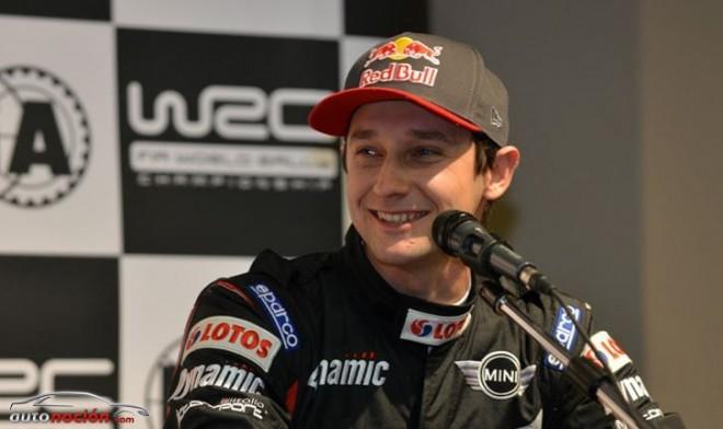 Kosciuszko se pasa de Mini a Ford en el WRC por problemas de fiabilidad
