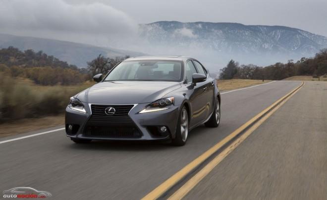 Lexus prueba el IS 300h durante más de millón y medio de kilómetros