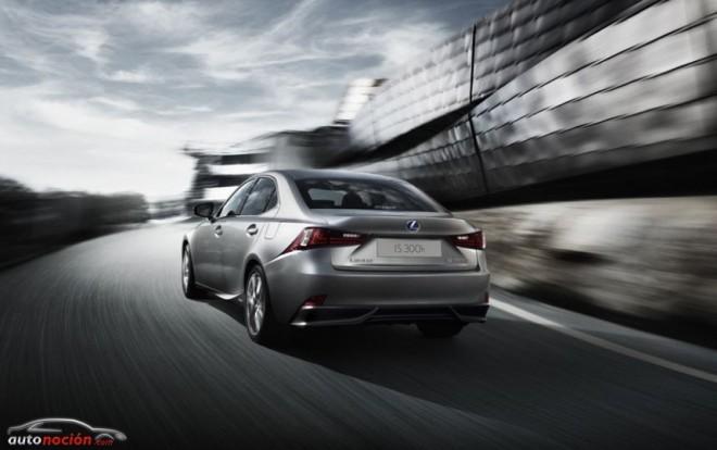 Lexus pone en jaque al diésel con su nuevo IS 300h