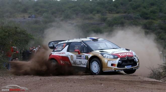 WRC: Loeb gana su octavo Rally de Argentina consecutivo