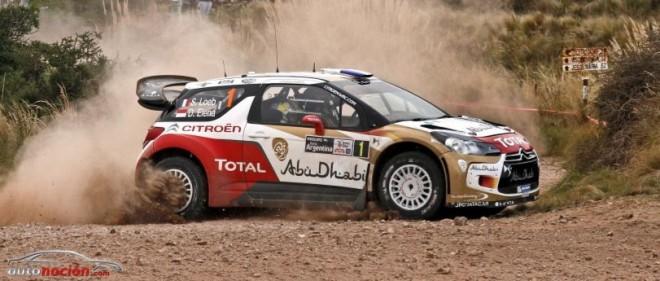 Loeb no pierde el ritmo en el Rallye de Argentina