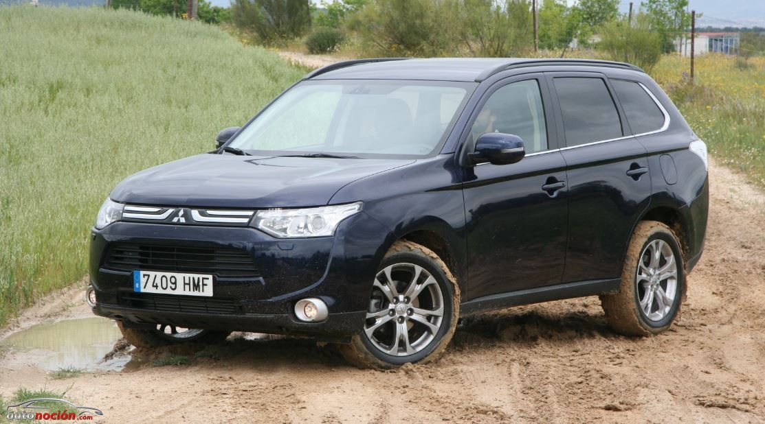 mitsubishi outlander 2 2 di d 4wd 150 cv opini n y prueba parte 3. Black Bedroom Furniture Sets. Home Design Ideas