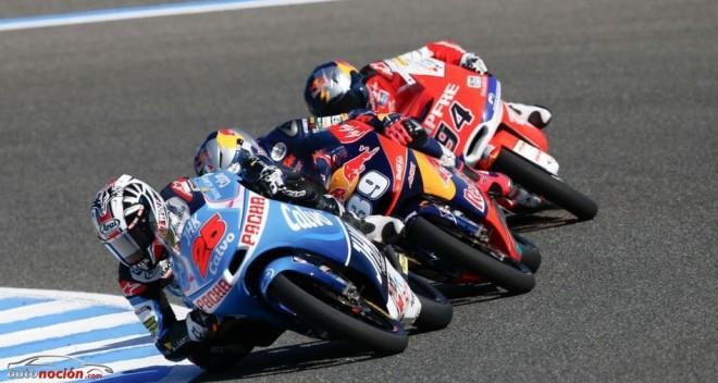 Moto3: Un inesperado final de carrera por bandera roja da la victoria a Viñales