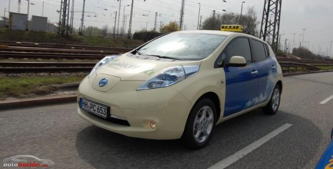 Nissan LEAF, el nuevo favorito de los taxistas