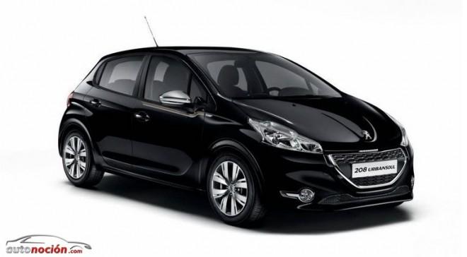 Peugeot lanza el 208 serie especial Urban Soul