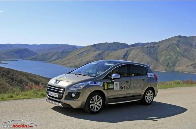 """Peugeot 3008 HYbrid4 triunfa en el """"Rallye Ecolóxico de Galicia"""""""