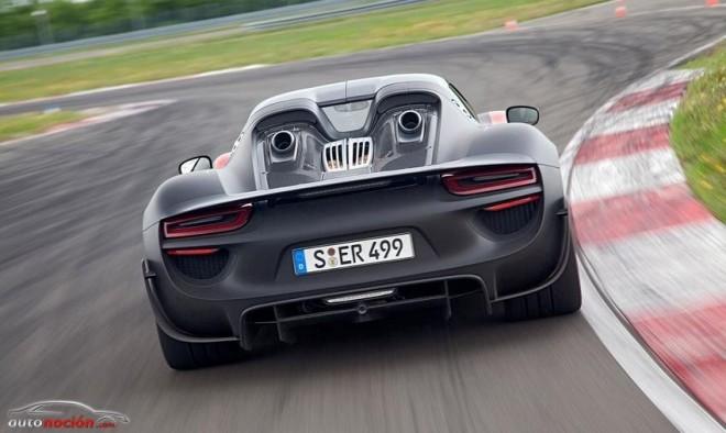 El Porsche 918 Spyder llega al configurador alemán de la marca desde 768.026 euros
