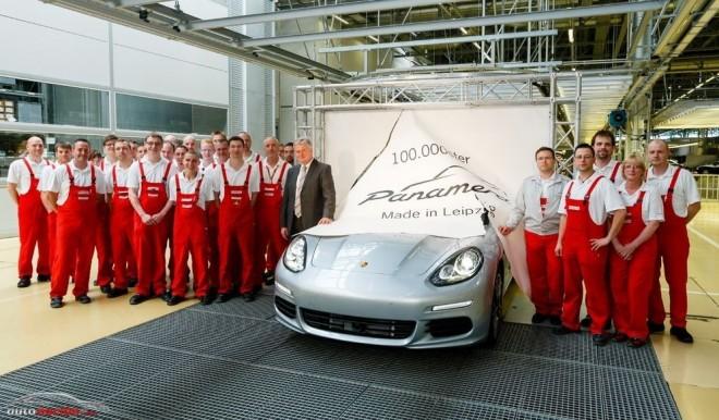 El Panamera 100.000 sale de la factoría Porsche de Leipzig