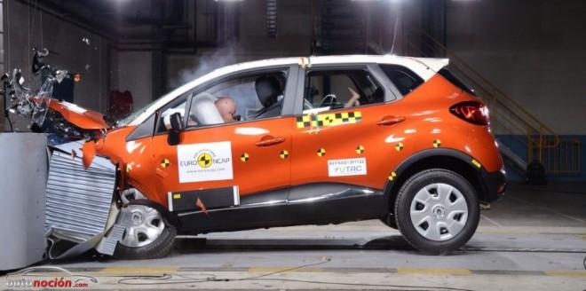 Renault Captur se gana las 5 estrellas EuroNCAP