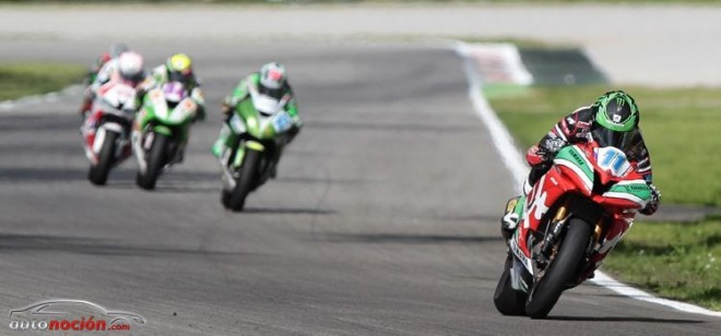 Heroica victoria de Lowes en Supersport