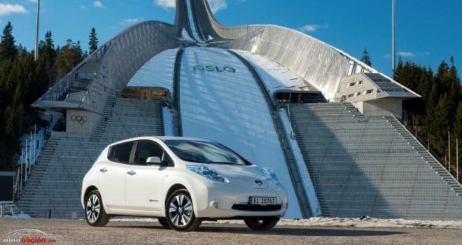 El Nissan LEAF revoluciona el mercado noruego