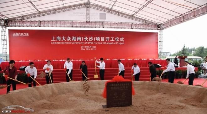 La nueva planta Volkswagen en China