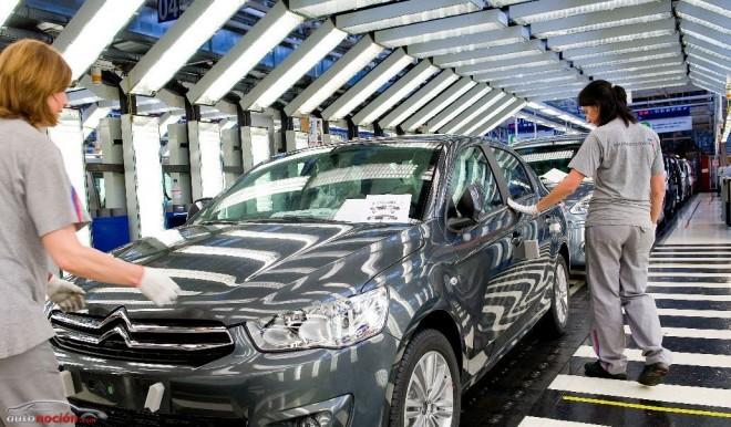 La producción de vehículos se mantiene gracias a las exportaciones