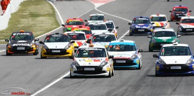 La Clio Cup 2013 en Montmeló