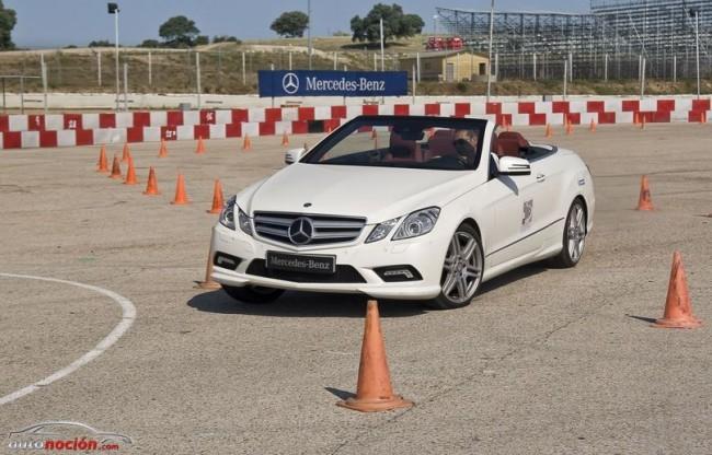 Cursos de conducción Mercedes-Benz 2013