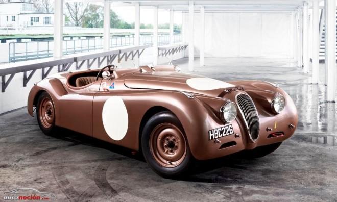 Jaguar llevará a la Mille Miglia tres Jaguar C-Type, tres XK120 y cinco F-TYPE