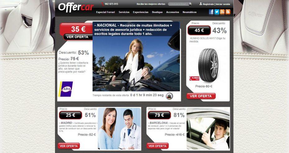 Offercar: un agrupador de ofertas de productos del motor