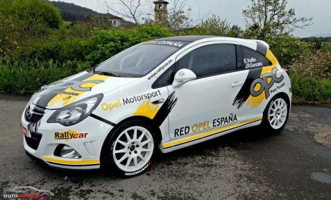Opel en el Campeonato de España de Rallies 2013