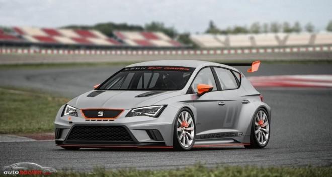 ¿Conoces al salvaje SEAT León Cup Racer?: 330 cv de SEAT Sport que volverán a competir en la León Eurocup