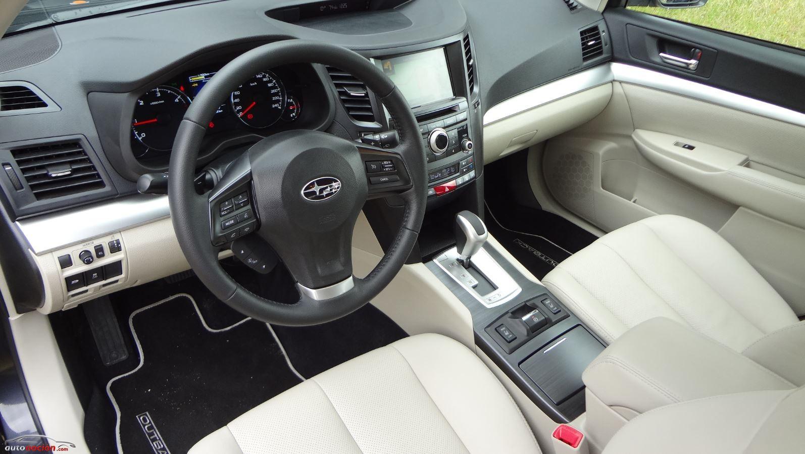 Opini N Y Prueba Subaru Outback 2013 Di Sel Lineartronic Parte 3