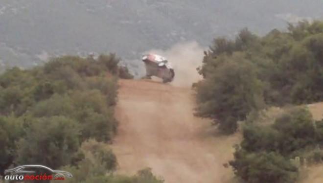 Así fue el accidente que obligó a Khalid Al-Qassimi a abandonar en Grecia
