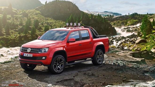 El pick-up más radical de Volkswagen se llama Amarok Canyon