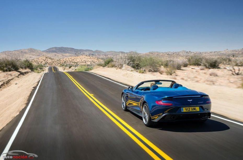 Aston Martin Vanquish Volante, la belleza y el lujo unidos bajo una capota de lona