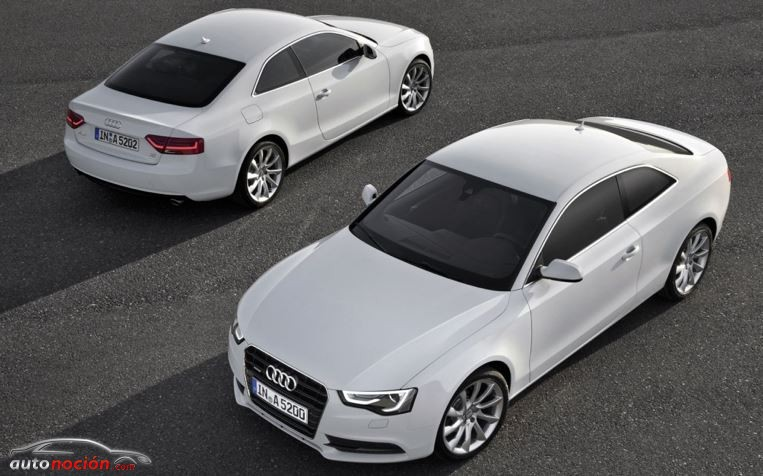 Cambios en las motorizaciones del Audi A5
