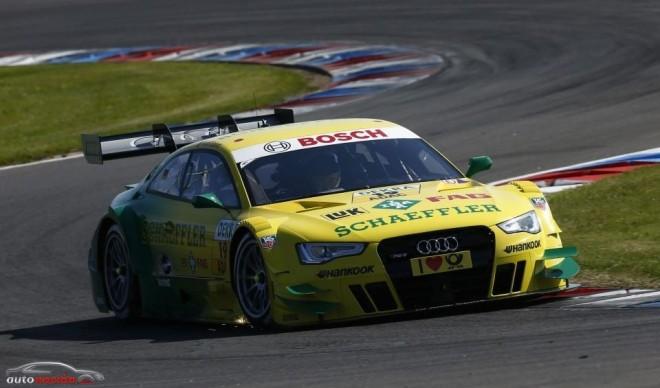 Audi recupera el liderato de la DTM tras la carrera de Lausitz