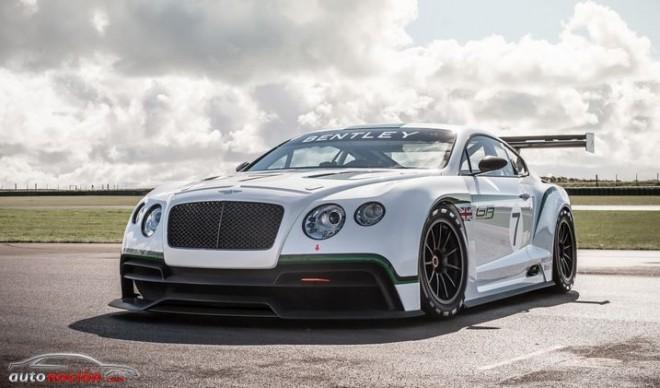 El Continental GT3 pronto empezará el programa de pruebas de Bentley