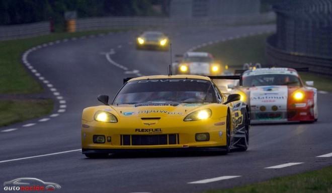 Chevrolet está satisfecho con los resultados de los Corvette C6 RS en Le Mans