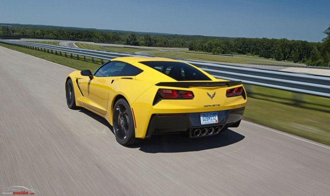 El Corvette Stingray 2014 acelera de 0 a 100 km/h en menos de 3.8 segundos