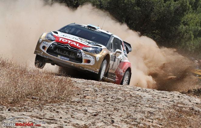 Dani Sordo y Carlos del Barrio consiguen un segundo puesto en Grecia
