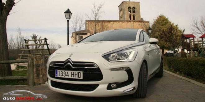Prueba de la versión híbrida del Citroën DS5, el HYbrid4