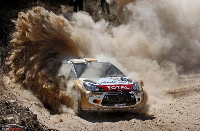 Dani Sordo quiere más en el duro Rally Acrópolis