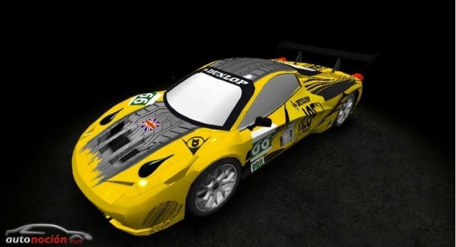Ya hay ganador del Dunlop Art Car 2013 para decorar un coche de Le Mans