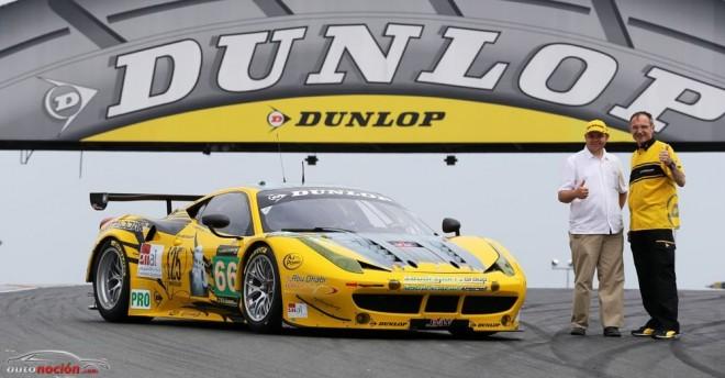 Dunlop presenta en Le Mans el Ferrari 458 GT2 del Dunlop Art Car