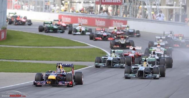 GP Canadá: Vettel gana fácil y Alonso remonta hasta el segundo