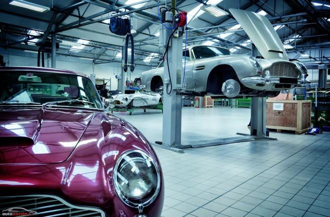 Aston Martin reabre la Heritage Showroom tras la restauración