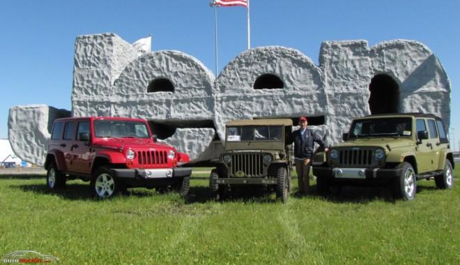 Un Jeep Willys vuelve a casa 70 años después