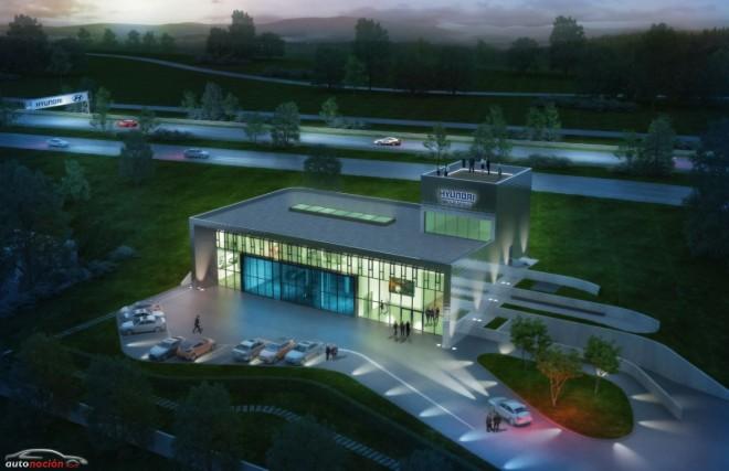 Hyundai traslada a Nürburgring sus instalaciones de pruebas