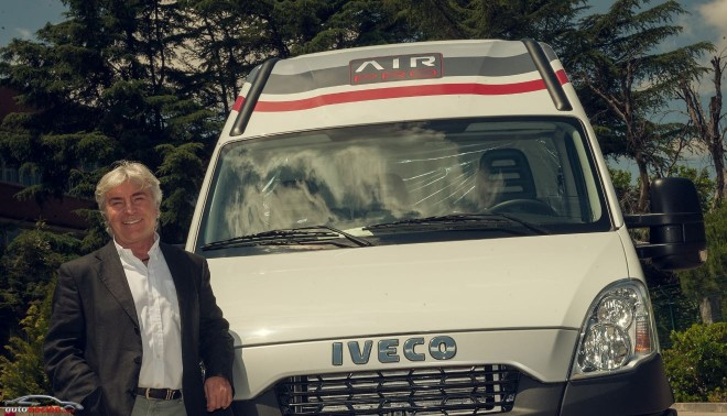 Iveco entrega una Daily Air Pro a Ángel Nieto