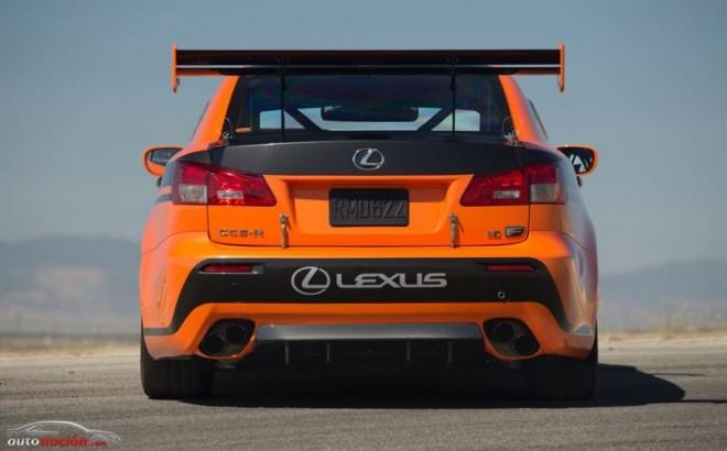 Lexus competirá en Pikes Peak con el IS F CSC-R