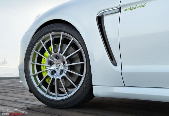Porsche montará neumáticos Michelin en el nuevo Panamera
