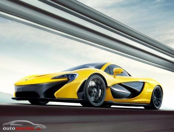 McLaren valora incluir un paquete de fibra de carbono en el P1
