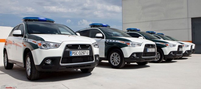 La Agrupación de Tráfico de la Guardia Civil incorporará 24 unidades del Mitsubishi ASX