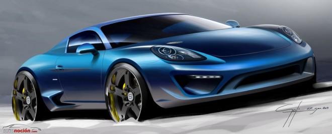 Moncenisio: Un derivado del Porsche Cayman S con la tradición italiana del diseño personalizado