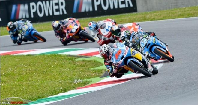 Llega moto3 al circuito de Cataluña