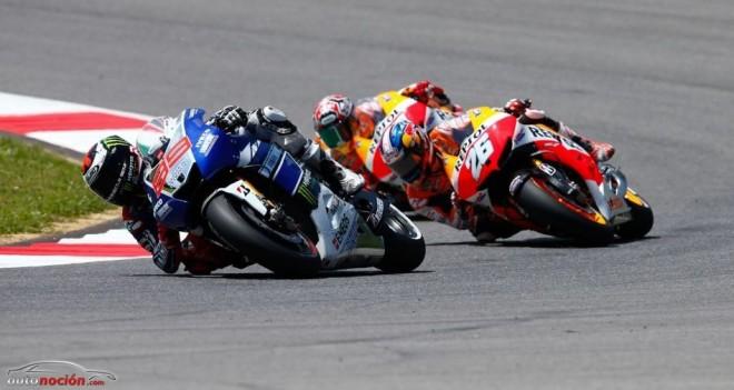 MotoGP: Lorenzo arrasa y Pedrosa salva los muebles