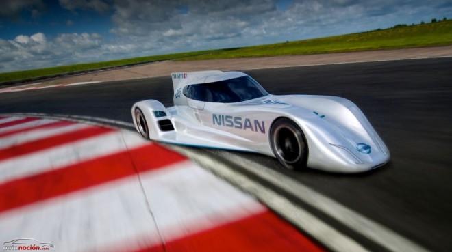 Nissan presenta el ZEOD RC, el prototipo que competirá en Le Mans en 2014